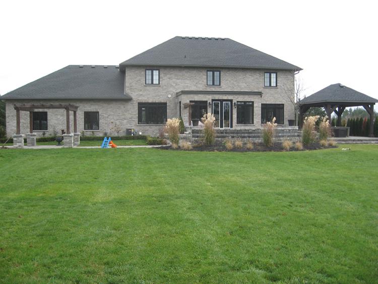 Wind Ridge Design Build Ltd - New Build - Otterville - Back Yard