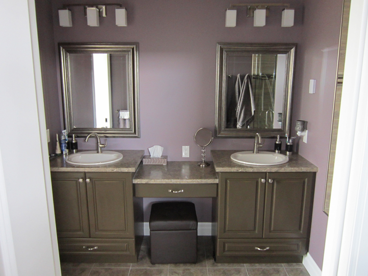 Thamesford - New House - Double Vanity