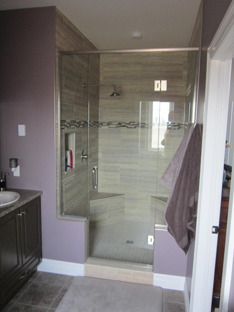 Thamesford - New House - Shower